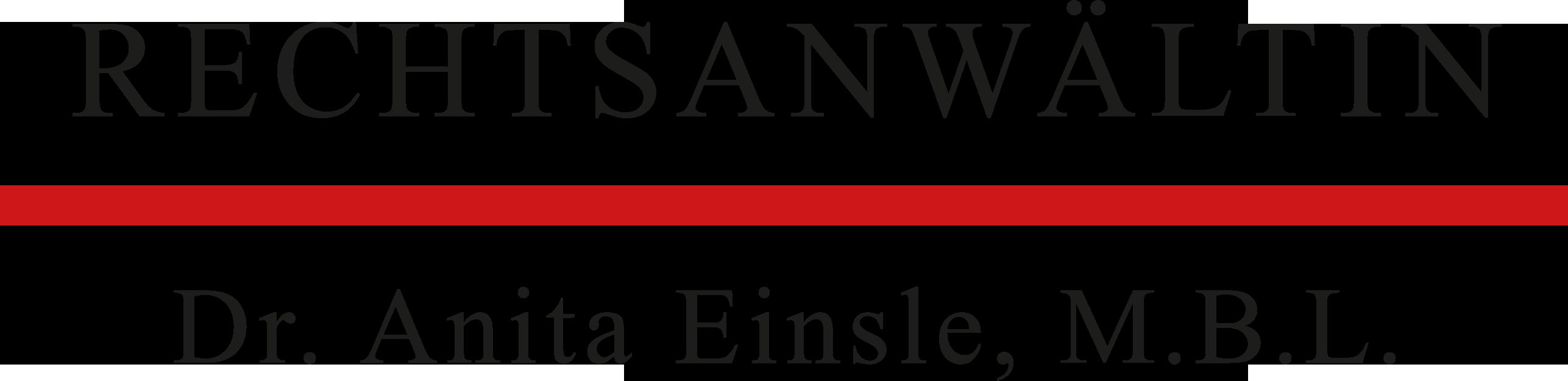Dr. Anita Einsle, M.B.L.